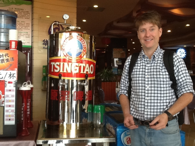 Tsingato Beer Stand