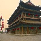 Xi'an city gate temple