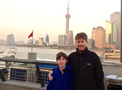 Alex & Kevin at the Bund