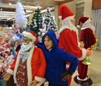 Ho Ho Ho in China, as long as you don't lie in a manger
