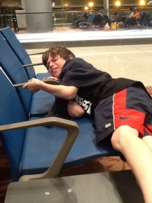 Airport sleeper
