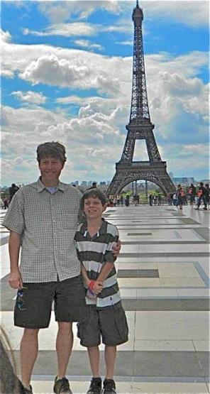 Paris with Alex