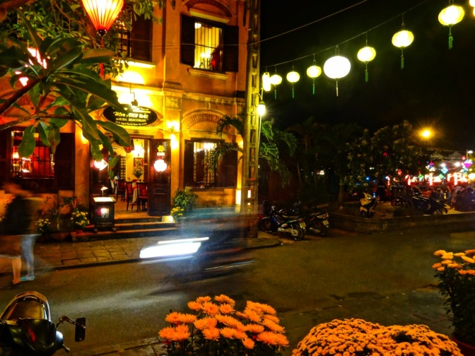 Street at night in Hoi An