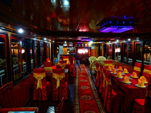 dining room at sea