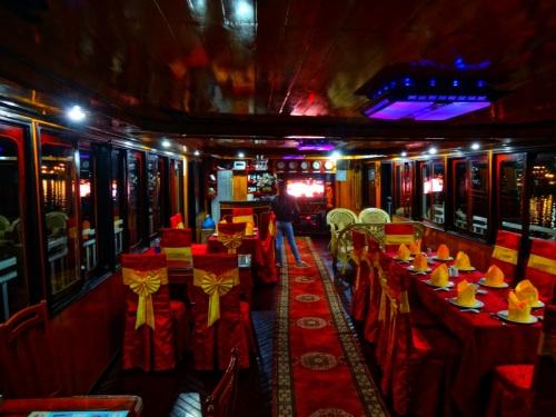 dining room at sea
