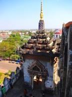 Patuxai: The Arc de Triomphe of Laos