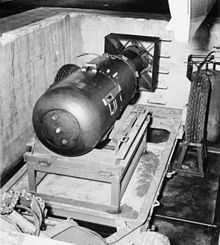 Developed during the Manhattan Project, Little Boy was the world's first atomic weapon used against people.