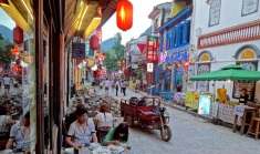 The south of China stays warm year around and looks, sounds, and feels more like Southeast Asia than mainland China.