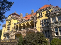 From 1898 until the outbreak of the first World War, Germany controlled much of Qingdao. The Governor's Mansion, completed around 1907, and built at great expense to the Kaiser back home in Germany is a terrific peak at life during the Imperial German occupation. The 30 room interior resembles a Bavarian hunting castle while the exterior an example of the Art Nouveau, has hosted many dignitaries during the past century. Chairman Mao stayed here with his family in 1957 during the heyday of China's Cultural Revolution as well as Vietnam's Ho Chi Minh in the 1960's.