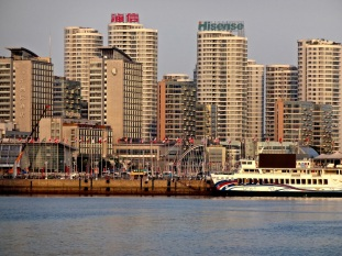 When the 2008 Summer Olympics came to China, all the sailing events were held in Qingdao in and around what is now known as Marina City.