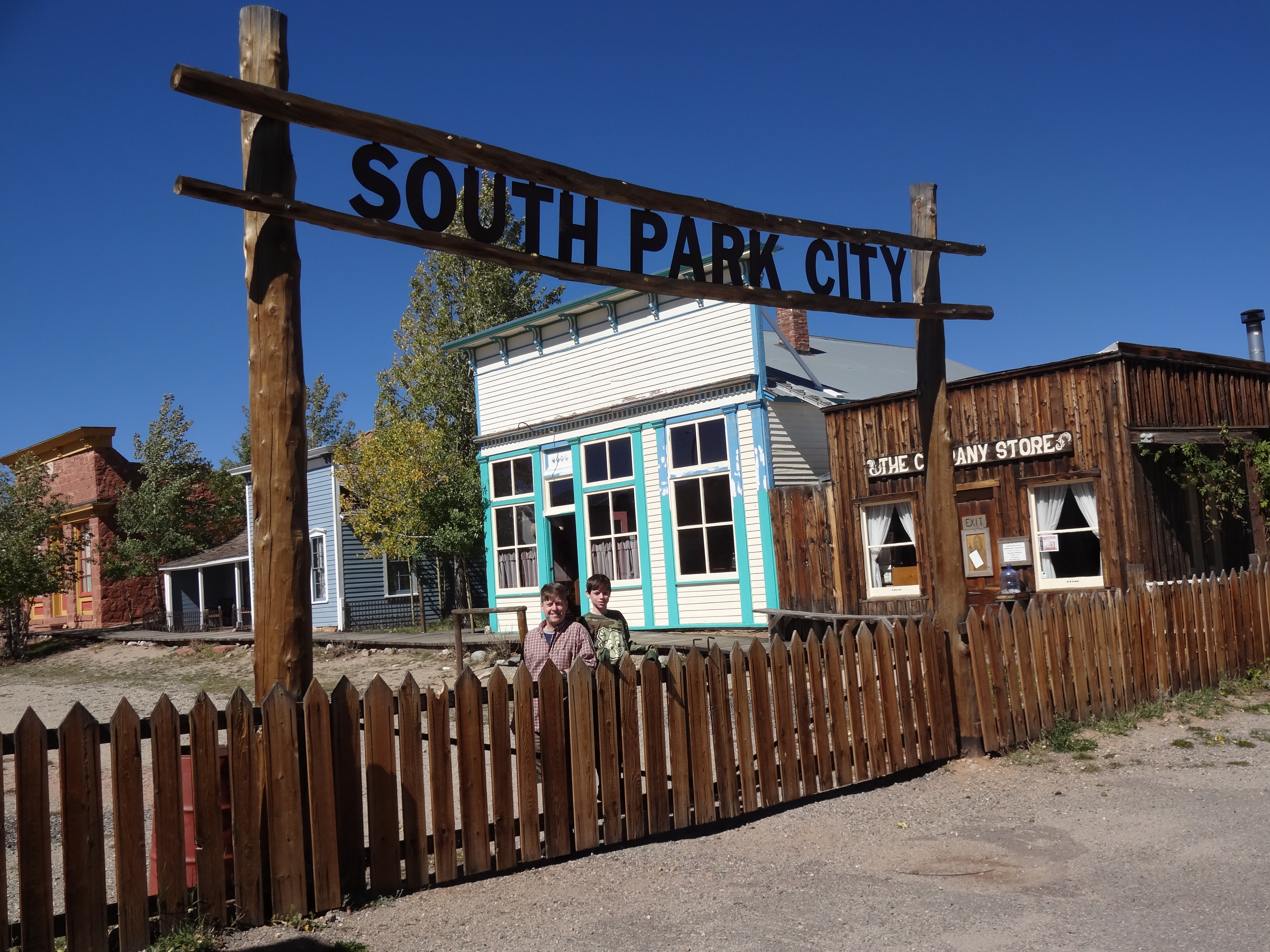South park the real and unanimated one travel the world over for Park towne